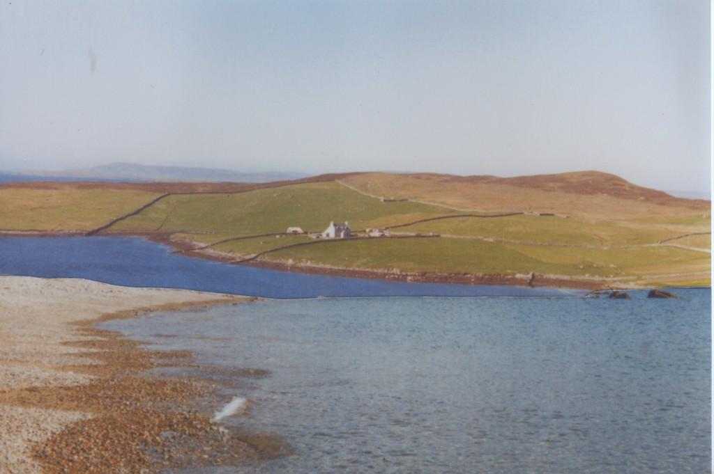 Shetland landscape collage
